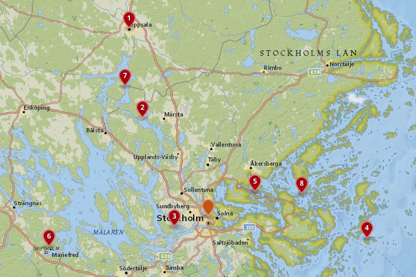 trips from stockholm